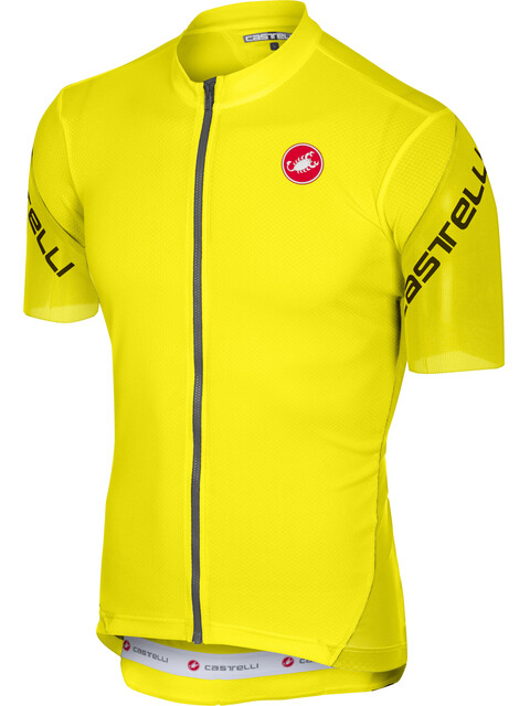 Castelli Entrata 3 Kortærmet cykeltrøje Herrer gul
